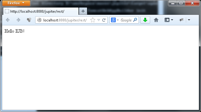 restful web service
