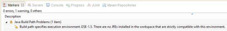 warning jdk5