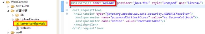service name=Upload